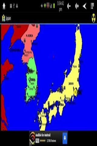 全球辐射地图