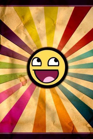 一款精美的可爱的笑脸主题壁纸软件,通过个性化的动态